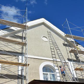 T-Roof - Schilderen van gevels